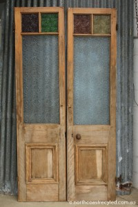 Light Brown French Doors